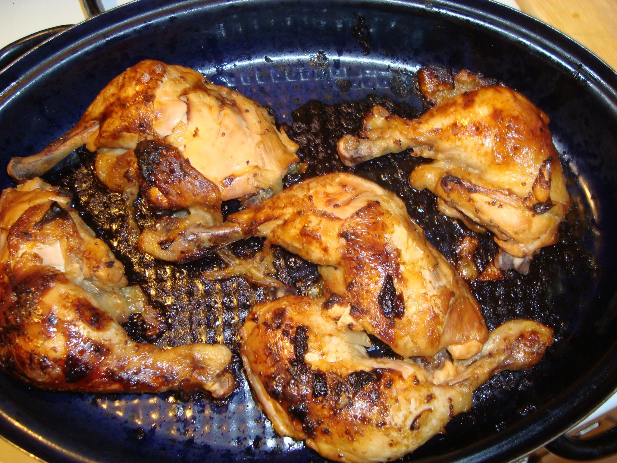 Huhn fertig