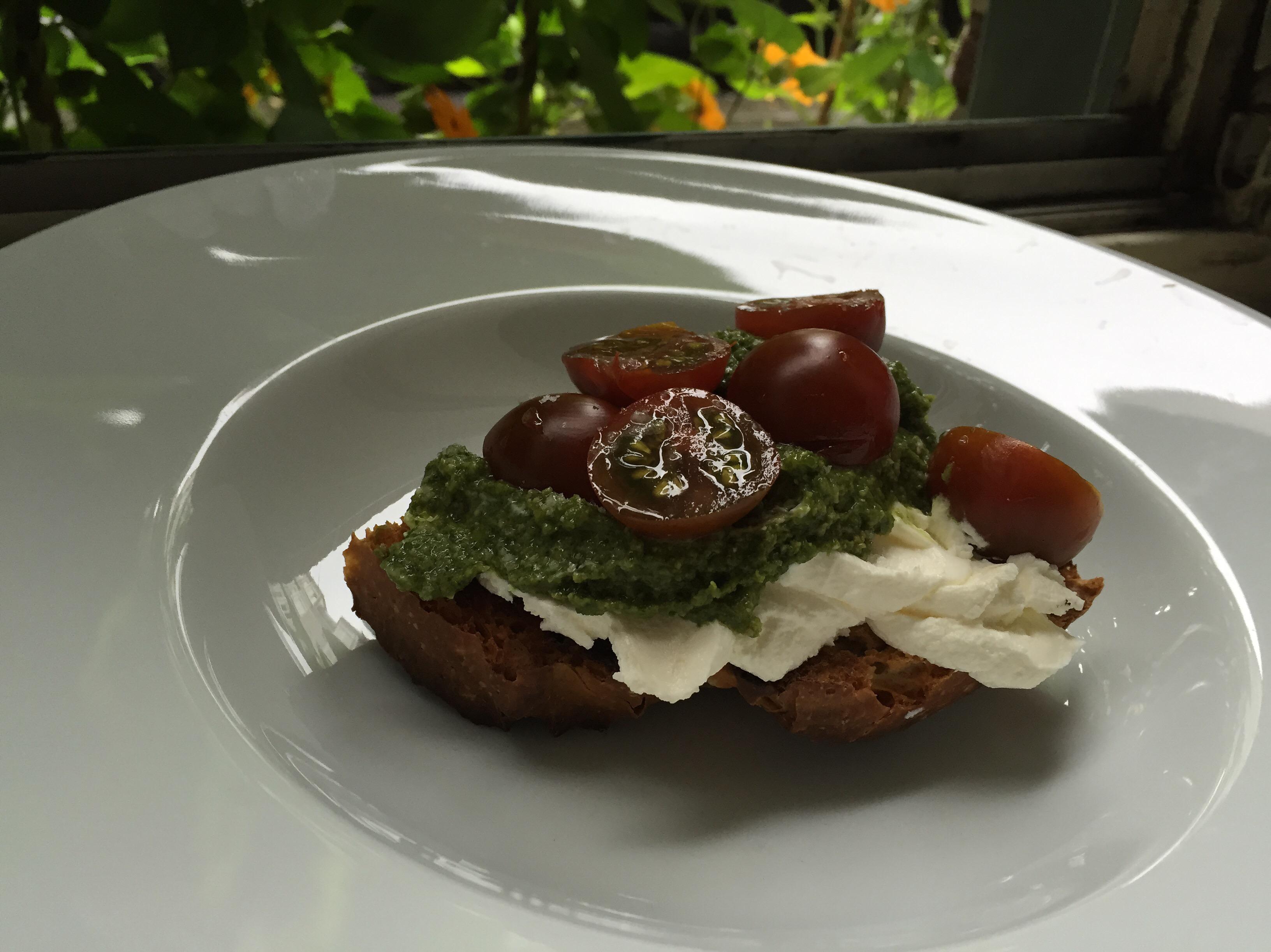 Labneh Sandwich